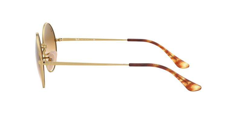 Clear Gradient Brown Sunglasses