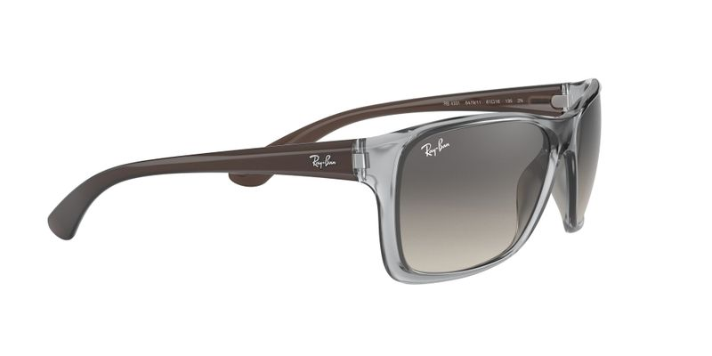 Grey Gradient Dark Grey Sunglasses
