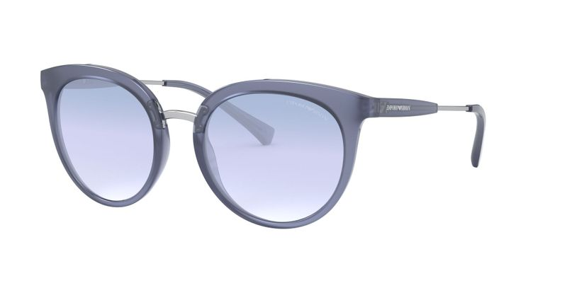 Clear Gradient Light Blue Sunglasses