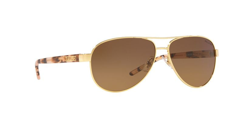 Polarized Yellow Gradient Brown Sunglasses