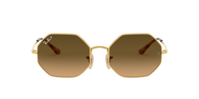 Brown Gradient Polarized Sunglasses