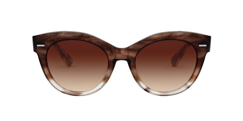 Spice Brown Gradient Sunglasses