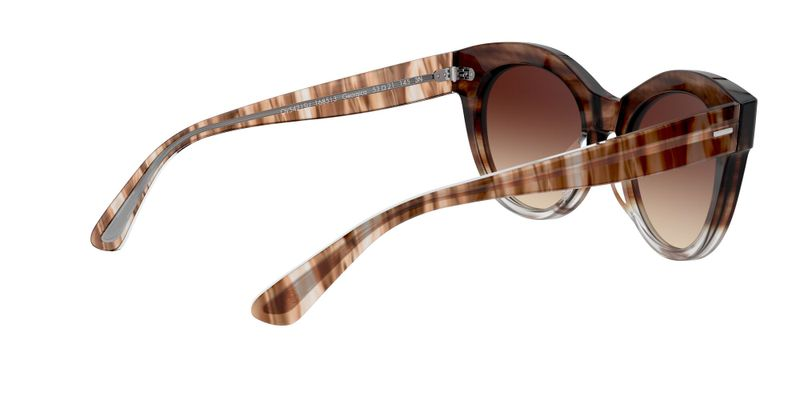 Spice Brown Gradient Sunglasses