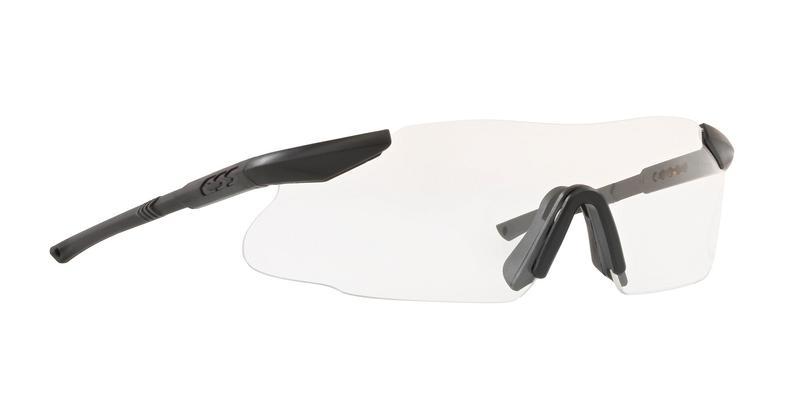 ESS Ice Matte Black Clear Sunglasses