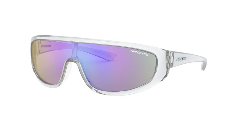 Light Grey Mirror Blue Sunglasses