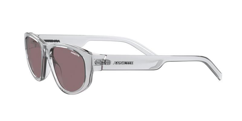 Brown Purple Sunglasses