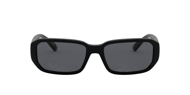 Dark Grey Tampo Silver Sunglasses