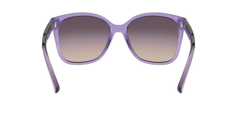 Pink Gradient Grey Sunglasses
