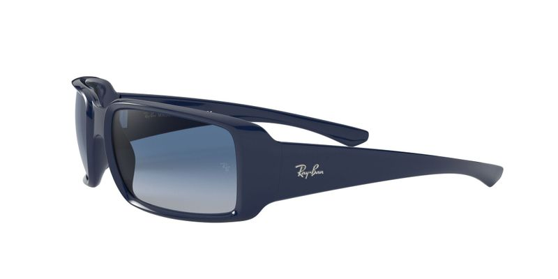 Light Grey Gradient Dark Blue Sunglasses