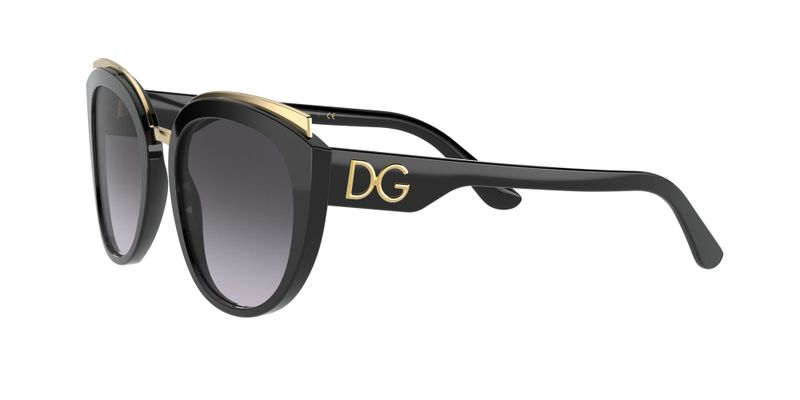 Light Grey Gradient Black Sunglasses