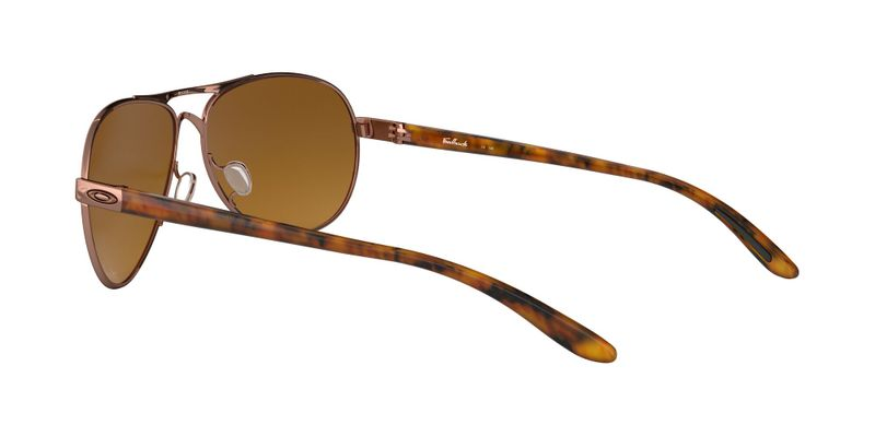 Brown Gradient Polarized Sunglasses