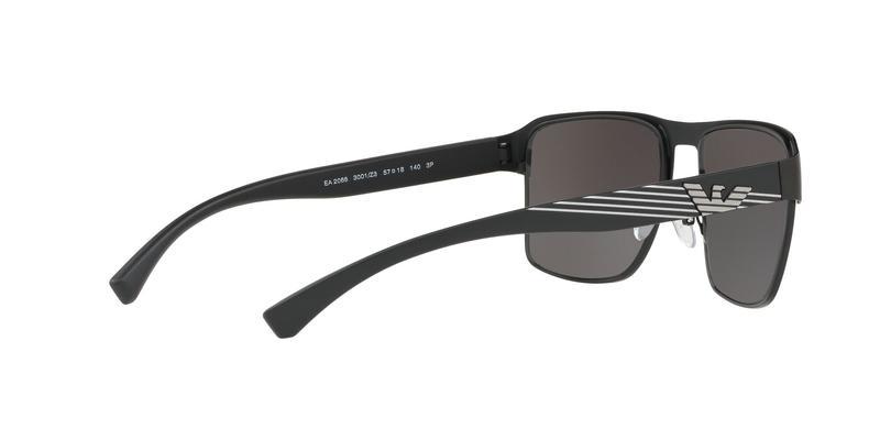 Polarized Grey Mirror Silver Sunglasses