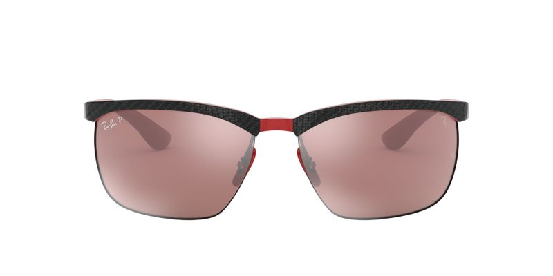 Purple Mirror Polarized Sunglasses