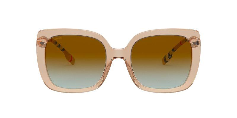 Azure Gradient Brown Sunglasses