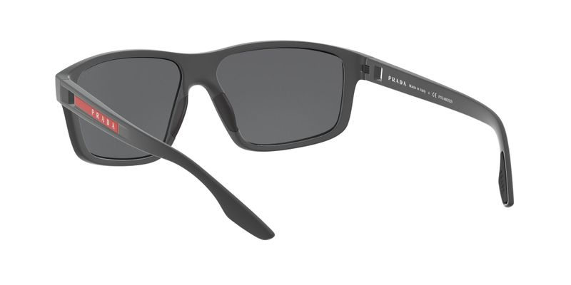 Polarized Dark Grey Mirror Silver Sunglasses
