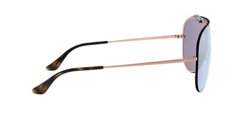 Dark Violet Mirror Silver  Sunglasses