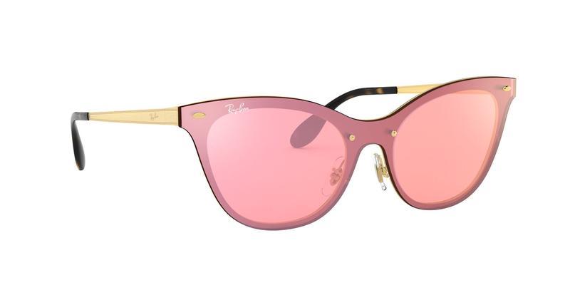 Pink Mirror Pink Sunglasses