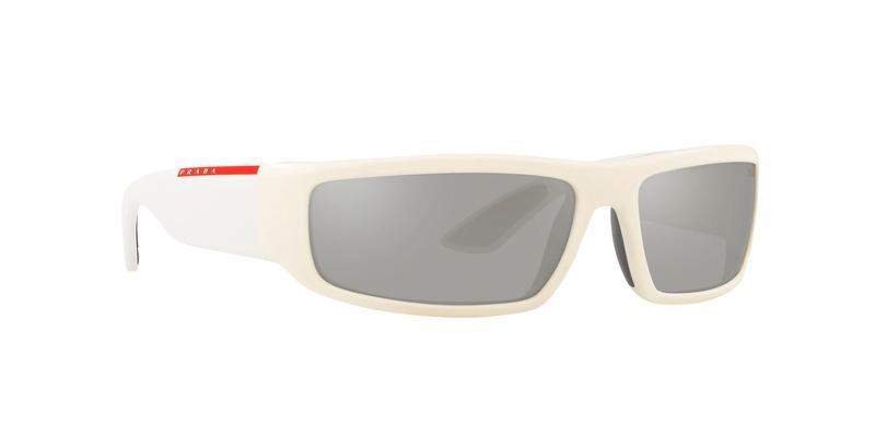 Light Grey Mirror Silver Sunglasses