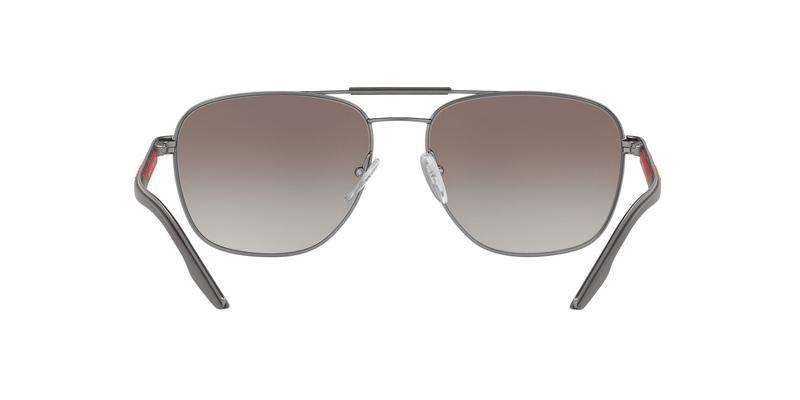 Gradient Grey Mirror Silver Sunglasses