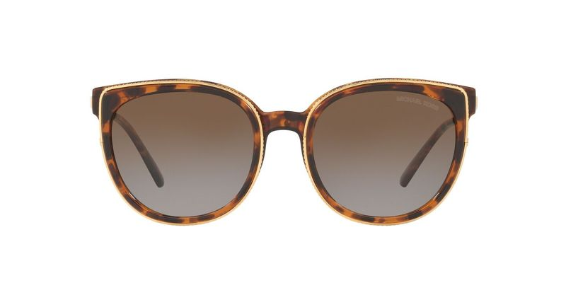 Brown Grey Gradient Polar Sunglasses