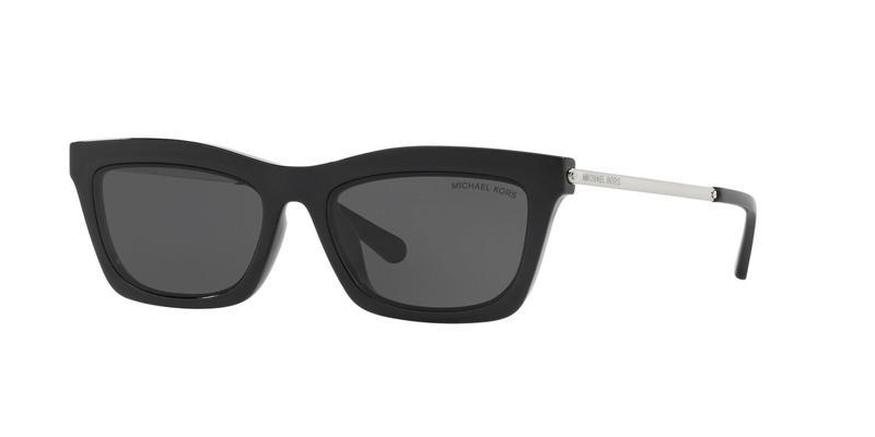 Dark Grey Solid Sunglasses