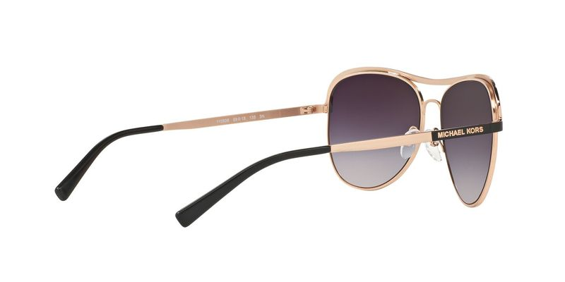 Grey Rose Gradient Sunglasses