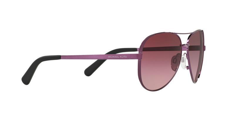 Burgundy Gradient Sunglasses