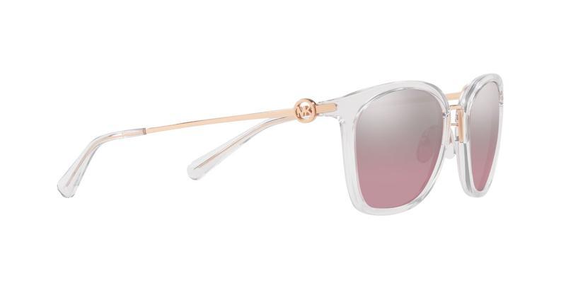 Grey Pink Flash Sunglasses