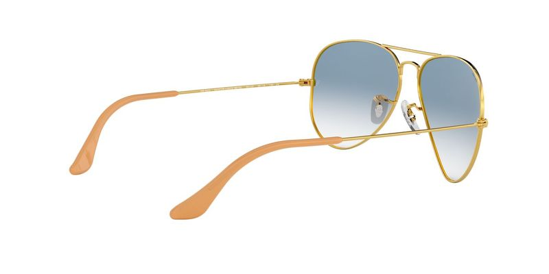 Crystal Gradient Light Blue Sunglasses