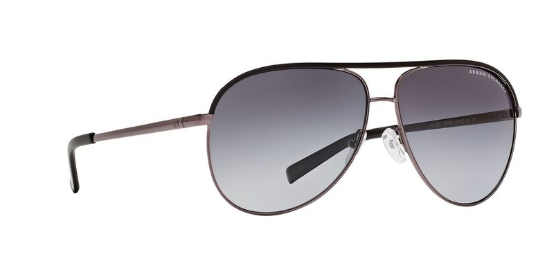 Grey Gradient Polarized Sunglasses