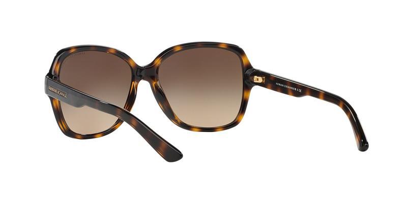 Dark Brown Gradient Sunglasses