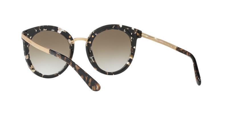 Grad Light Brown Mirror Gold Sunglasses