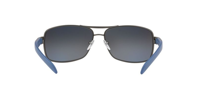 Polarized Grey Mirror Gradient Silver Sunglasses