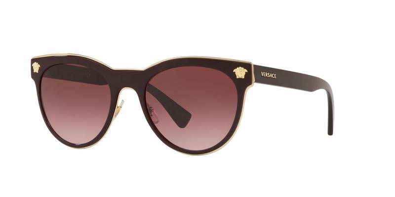 Pink Gradient Dark Violet Sunglasses