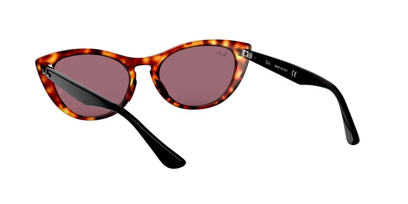 Violet Photo Mir Gold Sunglasses