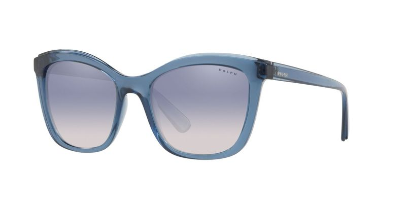 Blue Mirror Silver Gradient Sunglasses