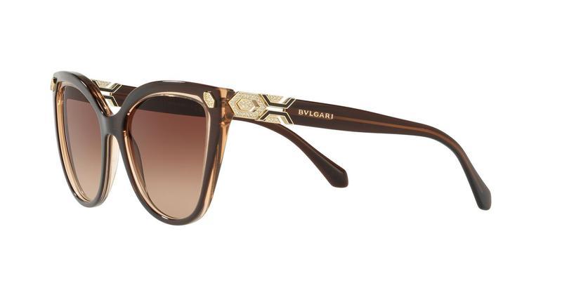 Brown Gradient Sunglasses