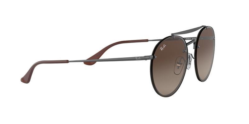 Brown Gradient Dark Brown Sunglasses