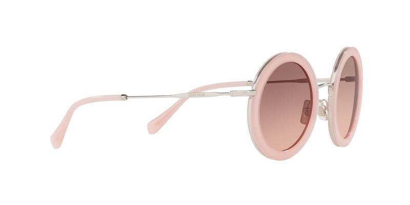 Pink Gradient Dark Brown Sunglasses