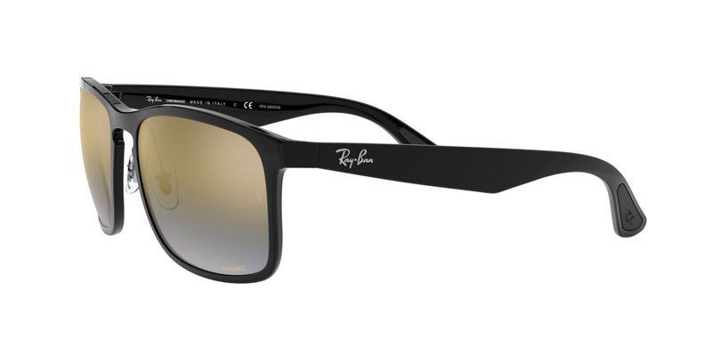 Blue Mir Gold Gradient Polar Sunglasses