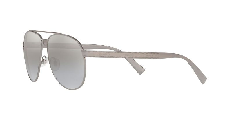 Light Grey Mirror Gradient Sil Sunglasses