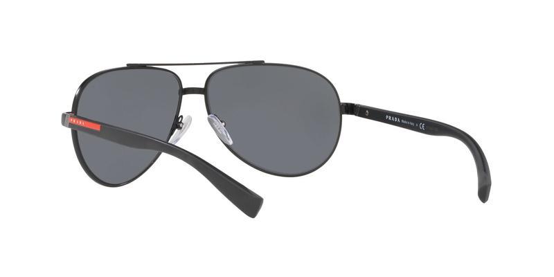 Light Grey Mirror Black Sunglasses
