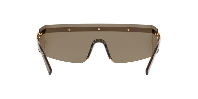 Brown Mirror Gold Sunglasses