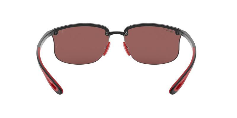 Purple Mir Silver Polar Sunglasses