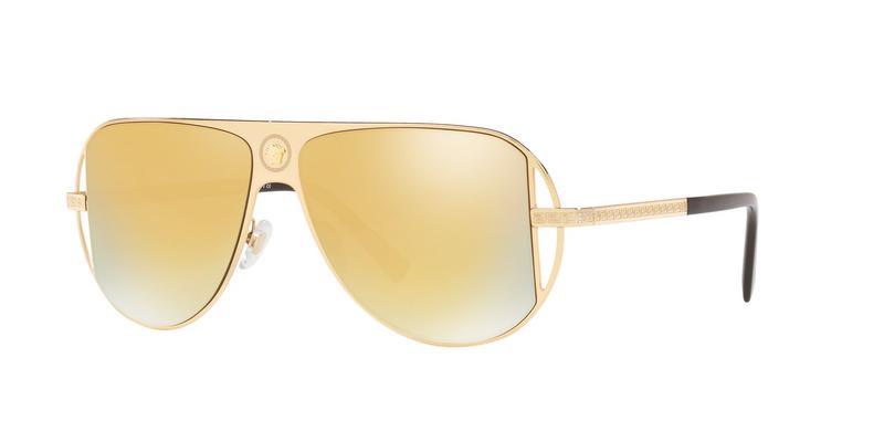 Emxframework.Range.Lux_Descriptioncolorlens.Brown_Mirror_Gold Sunglasses