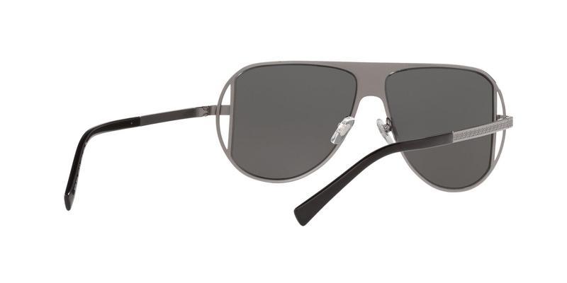 Grey Mirror Silver Sunglasses