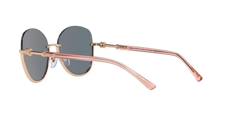 Grey Mirror Rose Gold Sunglasses