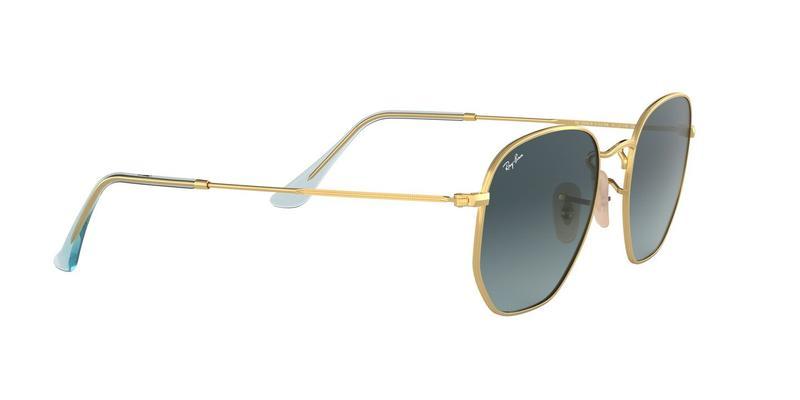 Blue Gradient Grey Sunglasses