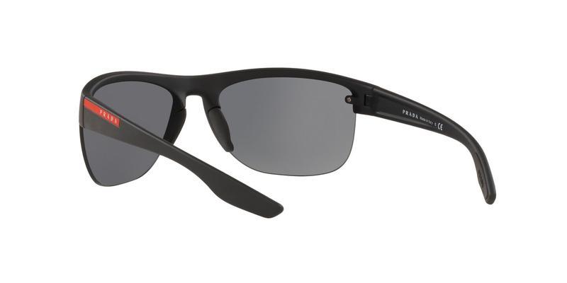 Grey Mirror Black Sunglasses