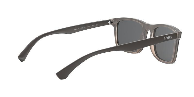 Polarized Dark Grey Mirror Silver Sunglasses